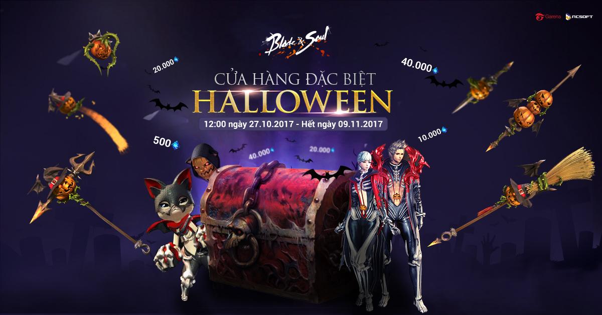 Blade and Soul ra mắt cửa hàng đặc biệt Halloween cùng Bích ngọc Hồng Môn - ảnh 1