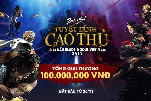 Thông báo: Thay đổi lịch trình thi đấu giải Tuyệt Đỉnh Cao Thủ 2017