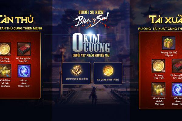 Ra mắt chuỗi sự kiện nhân dịp Siêu cập nhật Cung Thiên Mệnh!!