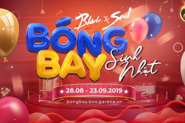 Chuỗi sự kiện sinh nhật 2 tuổi: Bóng Bay Sinh Nhật!