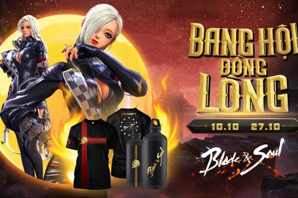 """Lần đầu tiên tại Blade & Soul Việt Nam: Trang phục chỉ dành riêng cho một Bang hội tại Sự kiện """"Bang hội Đồng lòng"""""""