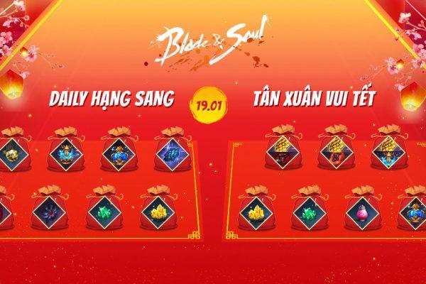 Chuỗi sự kiện Tết Canh Tí 2020: Daily Hạng Sang!