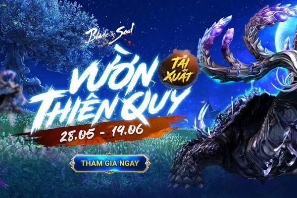 Từ 26.05: Ra mắt Sự kiện Vườn Thiên Quy Tái Xuất