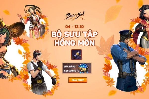 Từ 04.10 – 13.10: Mở bán Bộ Sưu Tập Hồng Môn